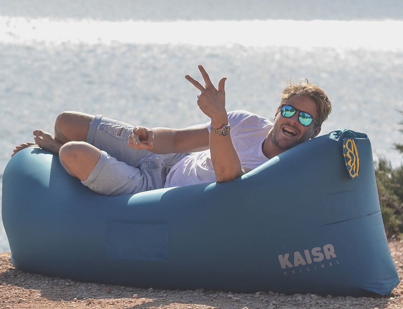Kaisr Original An Inflatable Lounge For Ultimate
