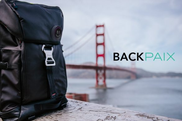 BackPAIX at Golden Gate Bridge KS Campaign Cover Emoji