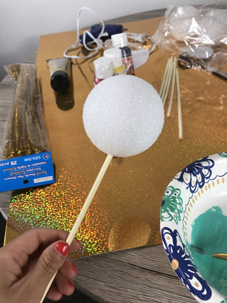 DIY galaxy photo booth